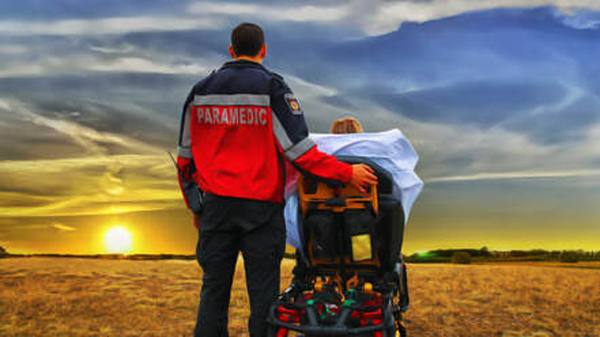 My Wish paramedic image for Heartland Hospice Moose Jaw