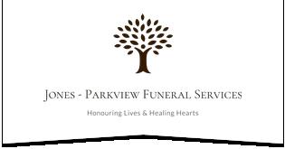 Jones Parkview Funeral Services